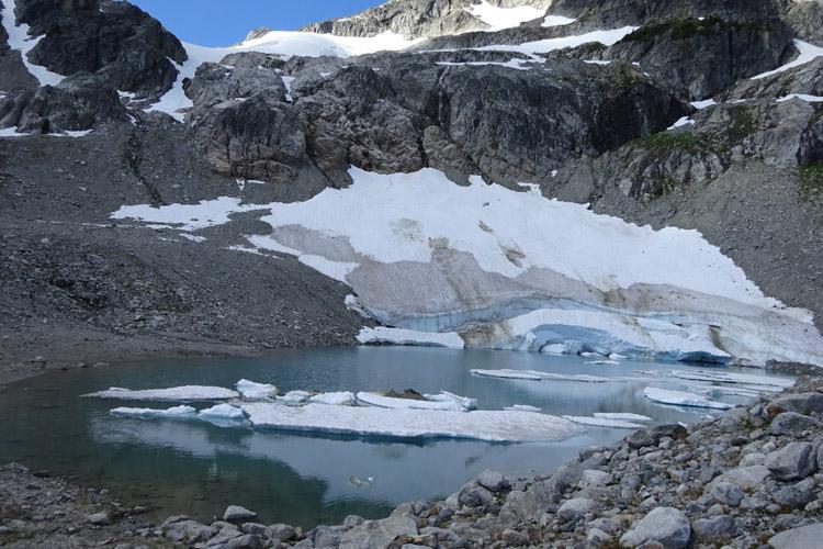 Iceberg Lake in Whistler