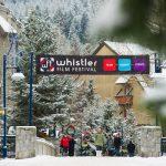 Whistler Village during Whistler Film Festival