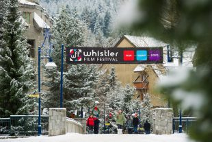 Whistler Village during Whistler Film Festival