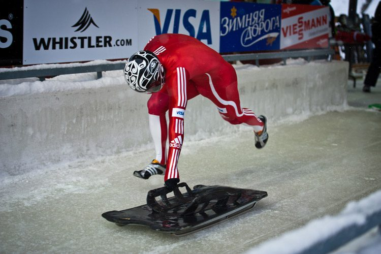 Skeleton at the Whistler Olympic Games
