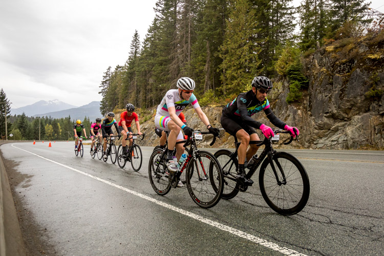 Road Cycling Race in Whistler