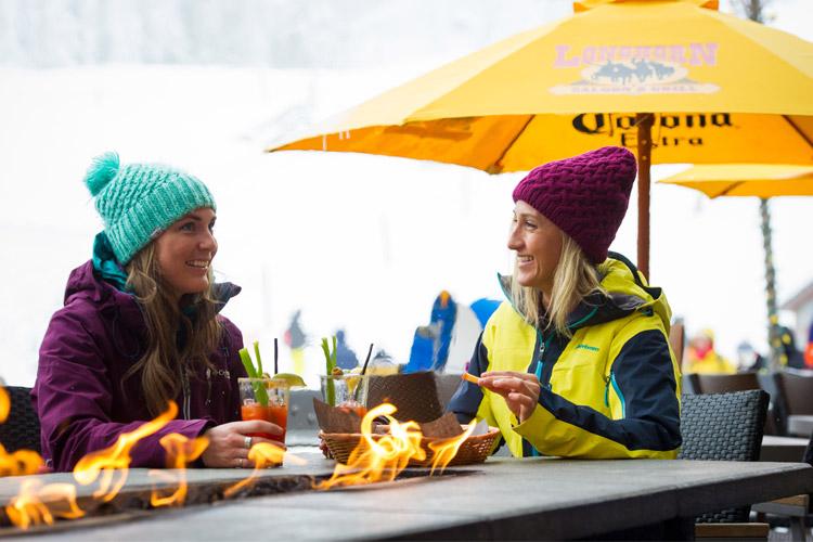 First Apres of the ski season in Whistler