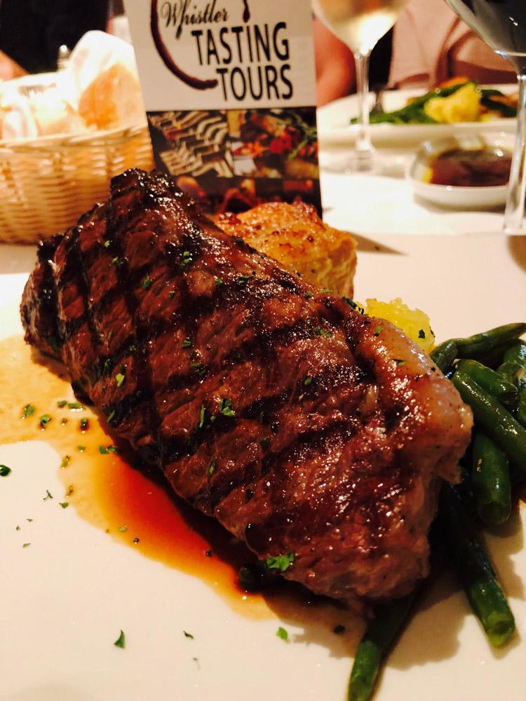 Whistler Tasting Tour Steak Option
