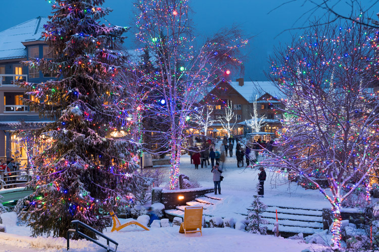 Whistler Village Holiday Light Display