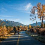 Autumn Bike Riding in Whistler