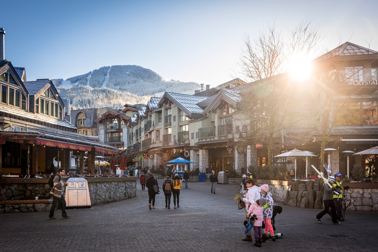 Winter in Whistler valley