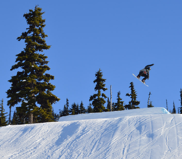 Ryan Johnston of the First Nations Snowboarding Team 2