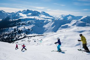 Family Fun Skiing in Whistler