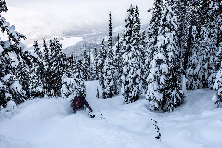Podwer Skiing Whistler Blackcomb
