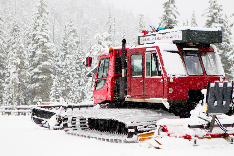 Callaghan Lake Snowcat Shuttle