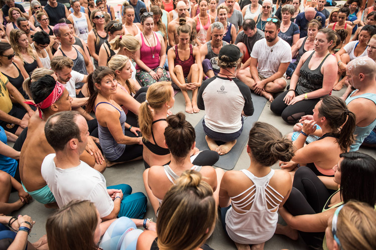 Blissology Class at Wanderlust Whistler