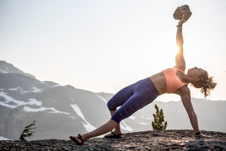 Mountain Top Yoga in Whistler