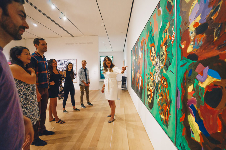 Docent Tour at the Audain Art Museum Permanent Collection