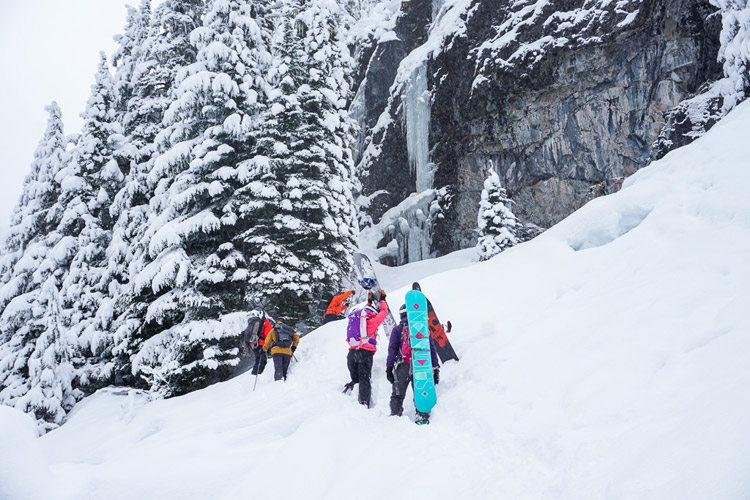 Ice Climbing Location in Whistler