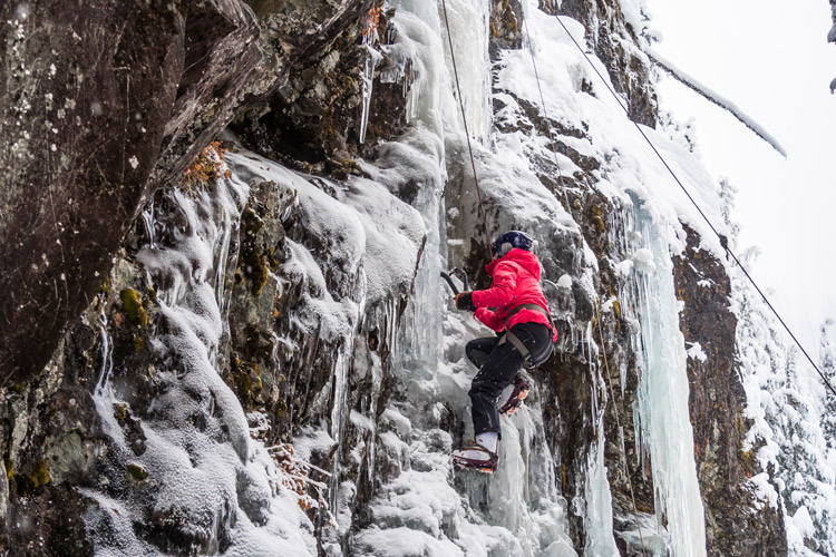 Guided Ice Climbing in Whistler