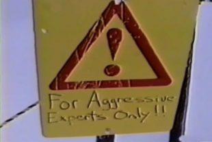 Saudan Couloir Ski Race Extreme sign