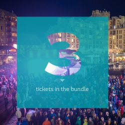 Ticket 3 pack for World Ski and Snowboard Festival