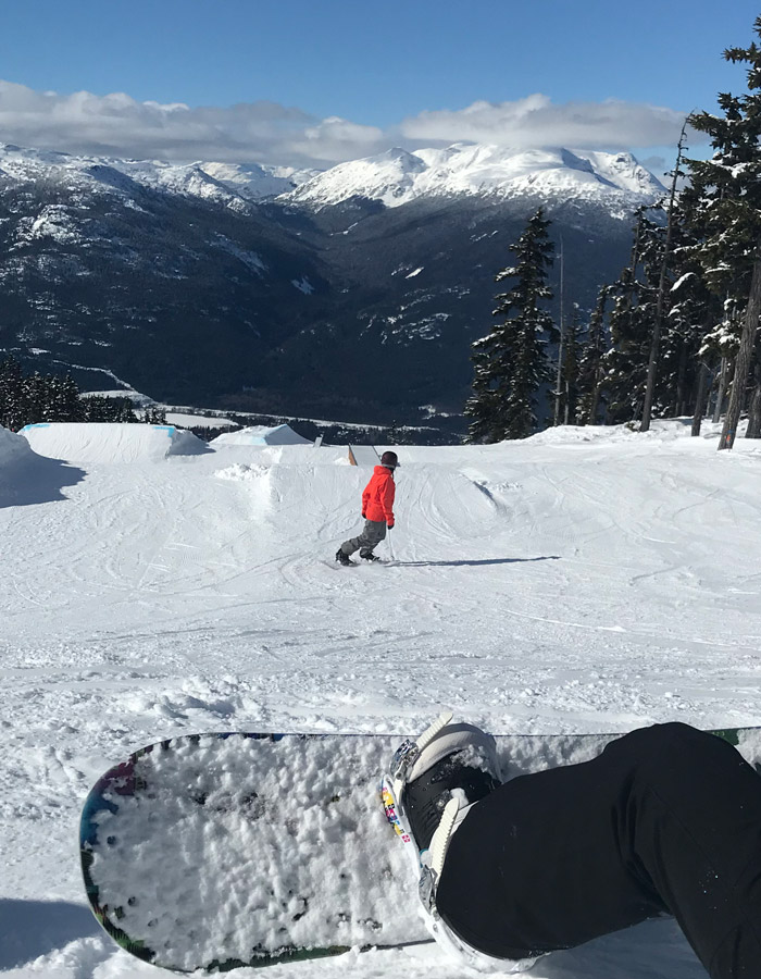 Whistler Blackcomb Snowboard Camp in Session