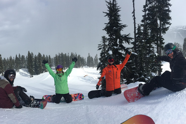 Women's Snowboard Camp in Whistler