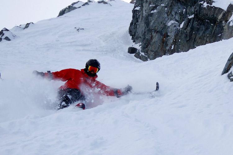 Alex Cairns skis DOA in Whistler