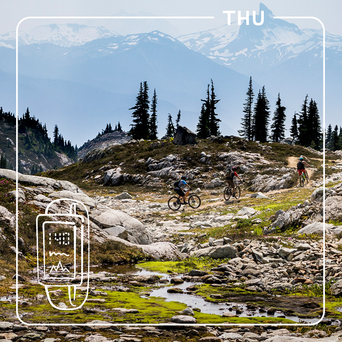 Lord of the Squirrels Trail, Whistler
