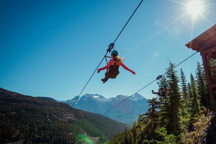 Superfly Ziplines Whistler