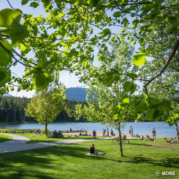 Whistler's Lost Lake Park