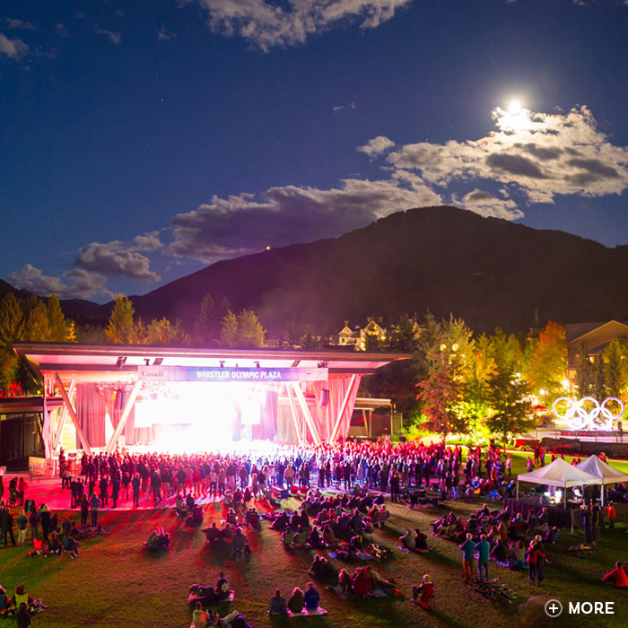 Whistler Concerts in Whistler Olympic Plaza