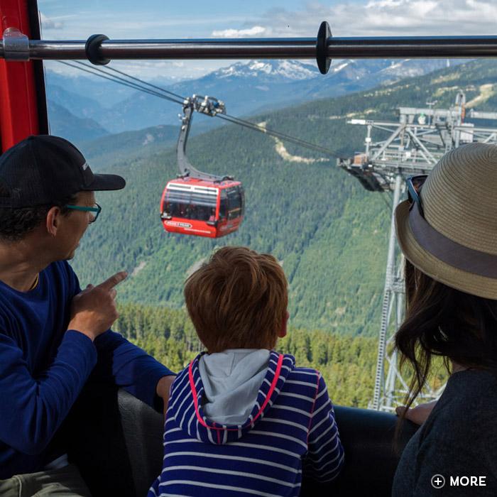 Whistler's PEAK 2 PEAK Gondola Experience