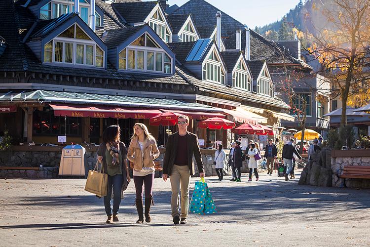 Whistler Village Shopping spree