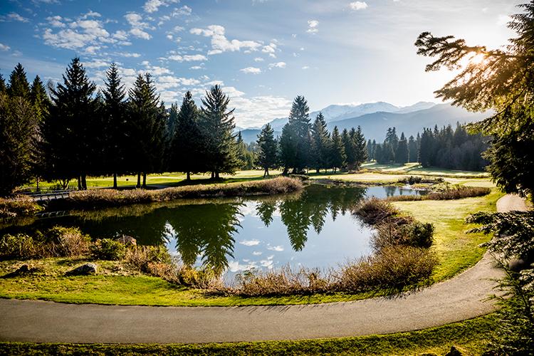 Spring Golfing in Whistler