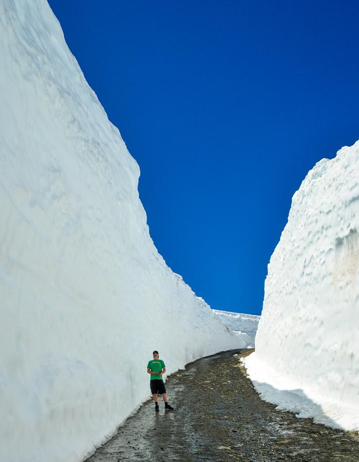 Snow Walls Whistler Mountain 2018