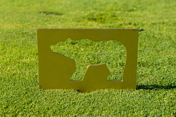 Whistler Golf Course Bear Marker