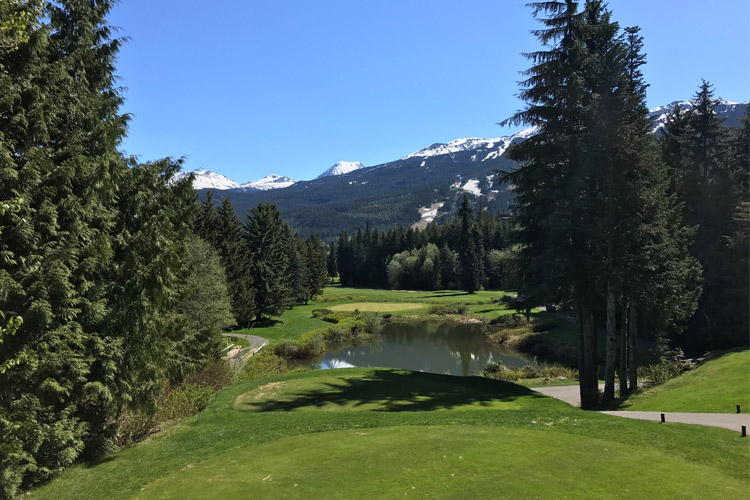 Whistler Golf Club 16th Hole Views