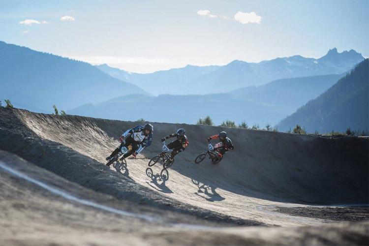 Whistler BMX Track First Corner