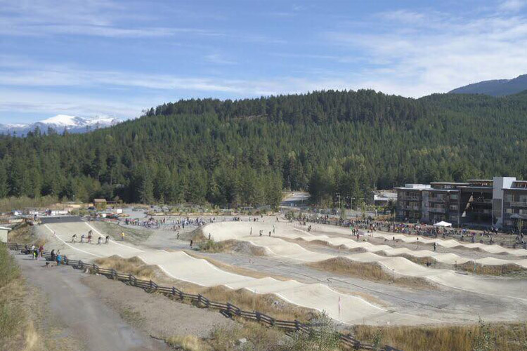 Whistler BMX Track in Payley Park