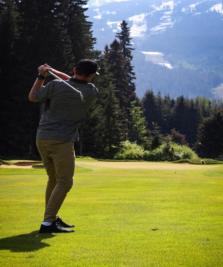 Whistler Golf Club Hole 13