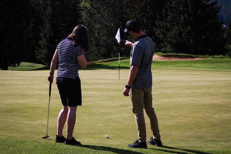 Whistler Golf Club lesson