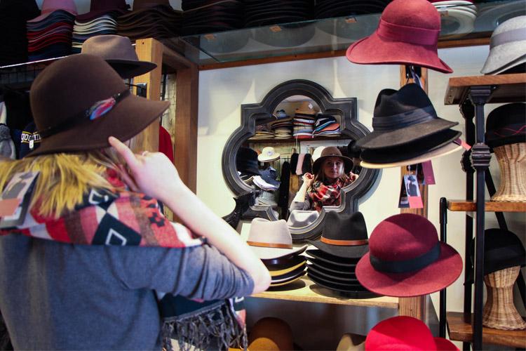 Whistler Village Hat Store
