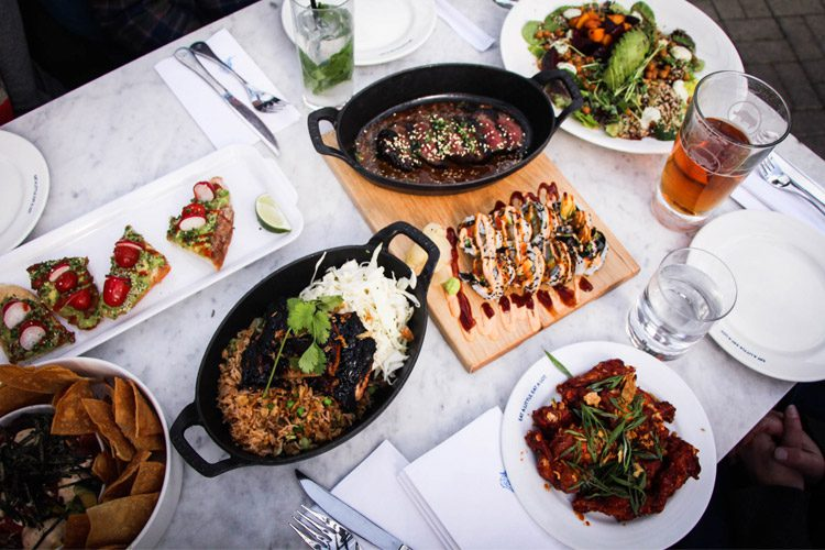 Earls Whistler food menu