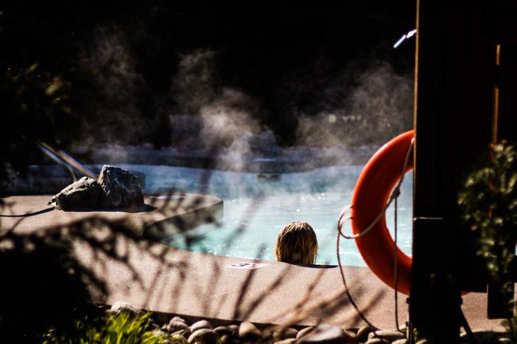 Hot tub spa whistler