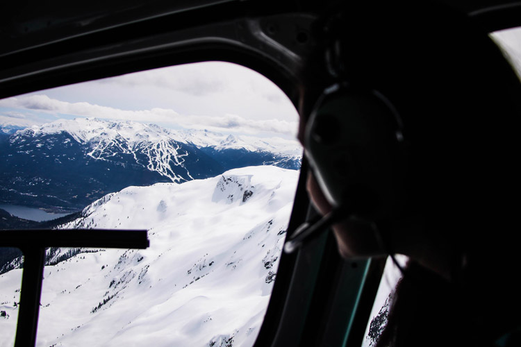 WHistler Helicopter Sightseeing