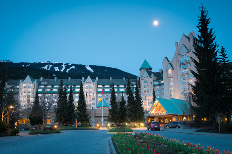 Fairmont Chateau Whistler in Spring
