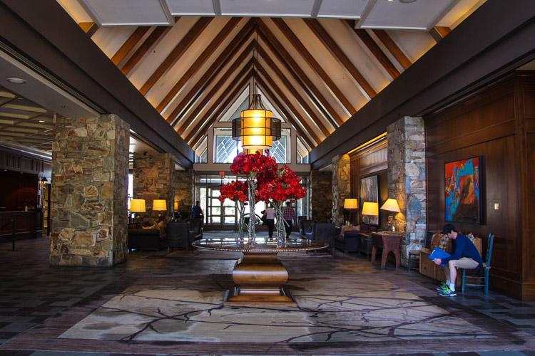 Fairmont Chateau Whistler Lobby