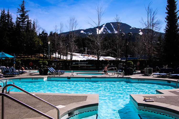 Fairmont Chateau Whistler pool