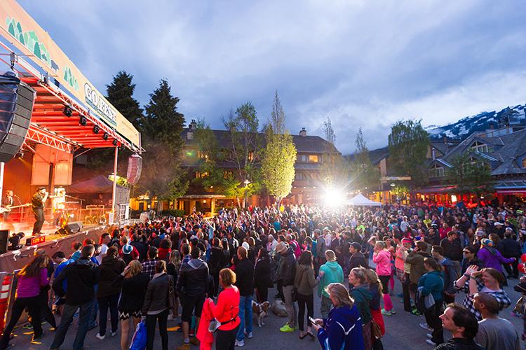Free Concert at Go Fest Whistler