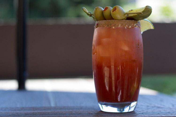 Caesar served at The Keg Steakhouse Whistler