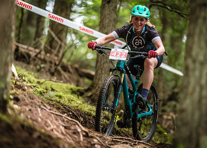 Competing in the BC XCO Championships