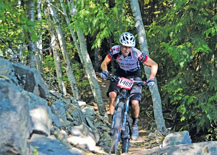 Westside Wheel Up race in Whistler