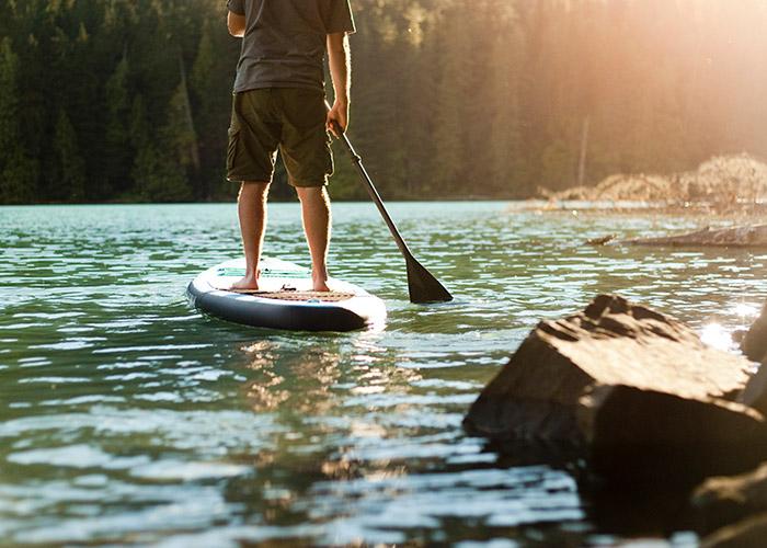Whistler's backyard brands - Kahuna Paddleboards